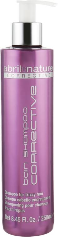 Шампунь для выпрямления волос - Abril et Nature Correction Line Bain Shampoo Corrective