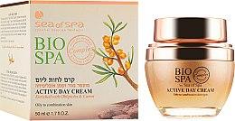 Духи, Парфюмерия, косметика Дневной крем для жирной и комбинированной кожи - Sea of Spa Bio Spa Active Day Cream