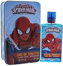 Духи, Парфюмерия, косметика Marvel Ultimate Spiderman - Набор (edt/100ml + tin/box)