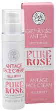 Духи, Парфюмерия, косметика Крем-филлер для лица антивозрастной - Erbario Toscano Pure Rose Antiage Face Cream