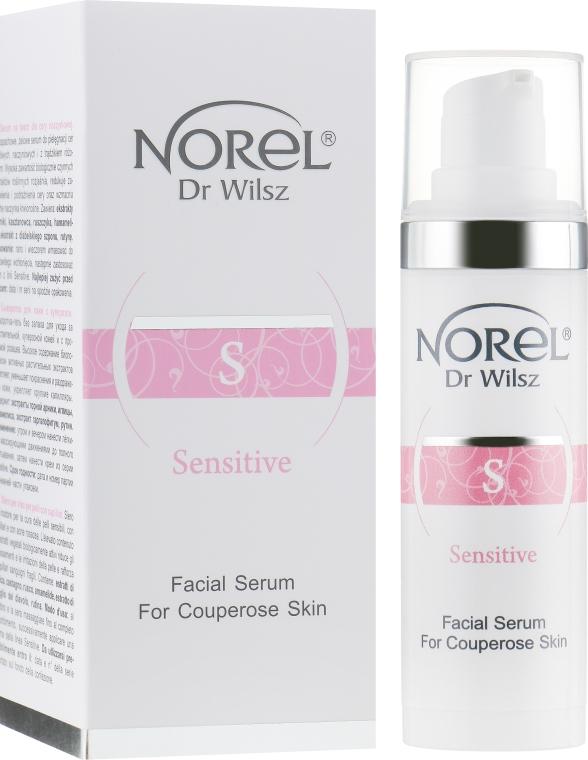 Сыворотка для куперозной кожи локального применения - Norel Arnica Facial Serum For Couperose Skin