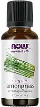 Духи, Парфюмерия, косметика Эфирное масло лемонграсс - Now Foods Essential Oils 100% Pure Lemongrass