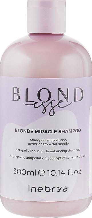 Шампунь для оттенков блонд - Inebrya Blondesse Blonde Miracle Shampoo
