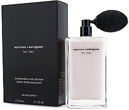 Духи, Парфюмерия, косметика Narciso Rodriguez For Her Limited Edition With Atomizer - Парфюмированная вода