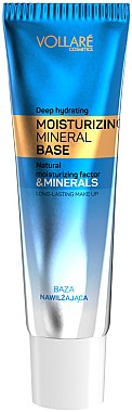 Увлажняющая база под макияж - Vollare Cosmetics Moisturizing Mineral Base