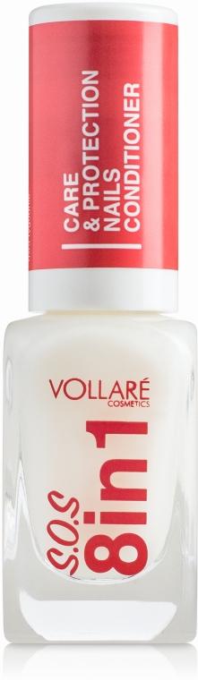 Лечебный препарат для ногтей - Vollare Cosmetics SOS 8in1
