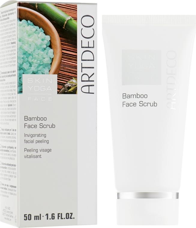 Бамбуковый скраб для лица - Artdeco Skin Yoga Face Bamboo Face Scrub