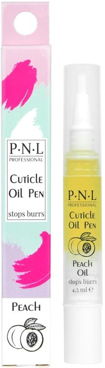 Персиковое масло для кутикулы в карандаше - PNL Treatment Cuticle Peach Oil