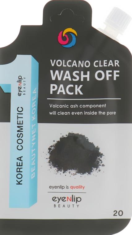 Очищающая маска с вулканическим пеплом - Eyenlip Volcano Clear Wash Off Pack