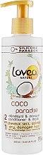 Духи, Парфюмерия, косметика Маска-кондиционер для волос с кокосом - Lovea Nature Conditioner & Mask Coco Paradise