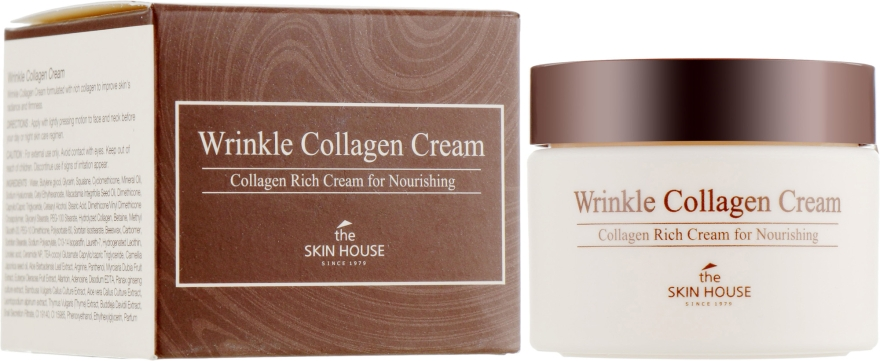 Питательный крем с коллагеном от морщин - The Skin House Wrinkle Collagen Cream