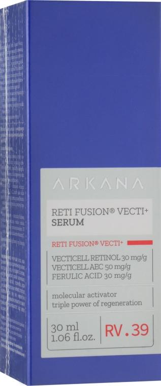 Сыворотка с ретинолом и витаминами А, Е, С - Arkana Reti Fusion Vecti+ Serum
