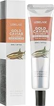 Духи, Парфюмерия, косметика Крем для интенсивного омоложения и питания кожи век с экстрактом икры - Lebelage Eye Cream Gold Caviar
