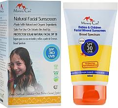 Духи, Парфюмерия, косметика Солнцезащитный детский крем для лица - Mommy Care Babies & Children Facial Mineral Sunscreen SPF30