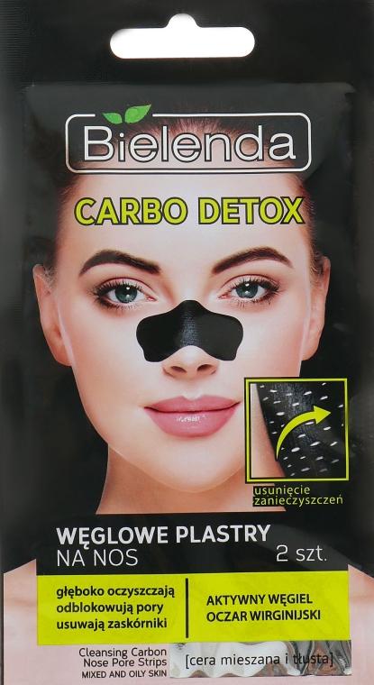 Пластырь для удаления угрей - Bielenda Carbo Detox Weglome Plastry