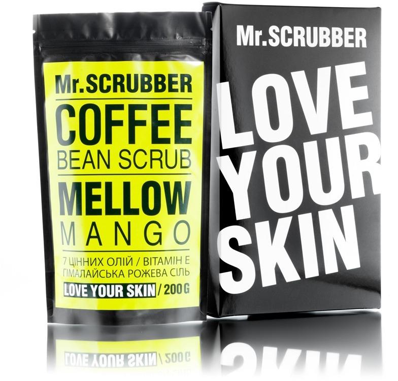 Кофейный скраб для лица и тела - Mr.Scrubber Mellow Mango Scrub