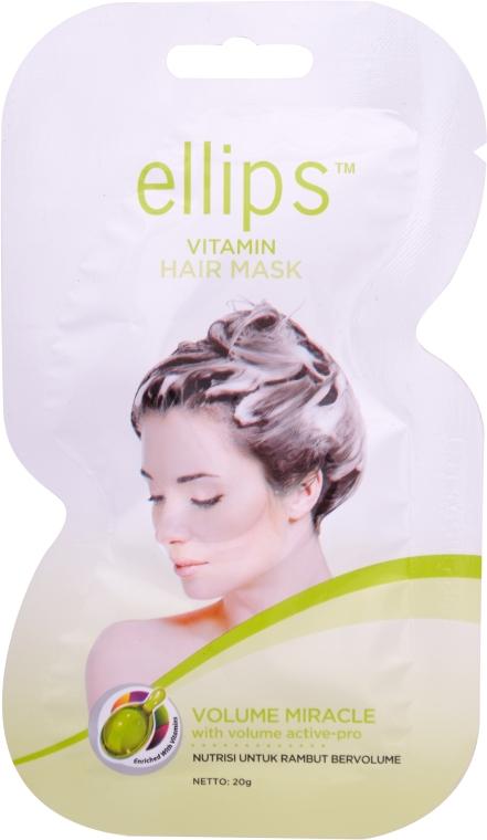 "Маска для волос ""Чудо объем"" - Ellips Vitamin Hair Mask Volume Miracle"