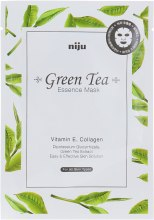 "Духи, Парфюмерия, косметика Маска для лица ""Зеленый чай"" - Konad Niju Green Tea Essence Mask"
