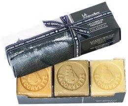 Духи, Парфюмерия, косметика Набор мыла - La Corvette Provencal cubes gift box