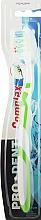 Духи, Парфюмерия, косметика Зубная щетка ''Complex'', средней жесткости, бело-салатовая - Pro Dent