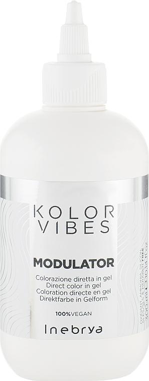 Окрашивающий гель для волос - Inebrya Kolor Vibes Modulator — фото N1