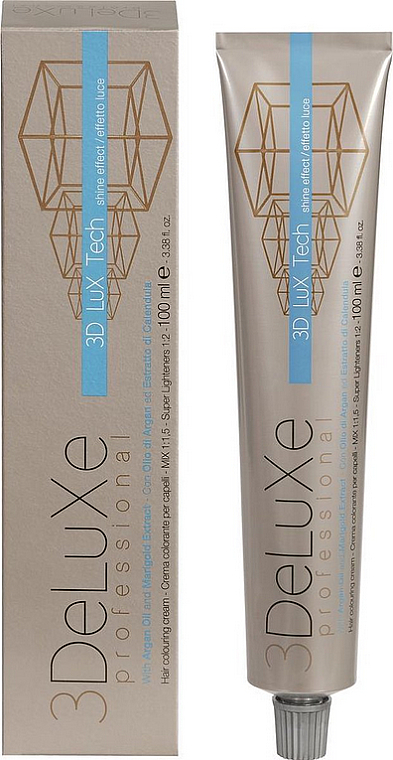 Краска для волос - 3DeLuXe Tech Colouring Cream