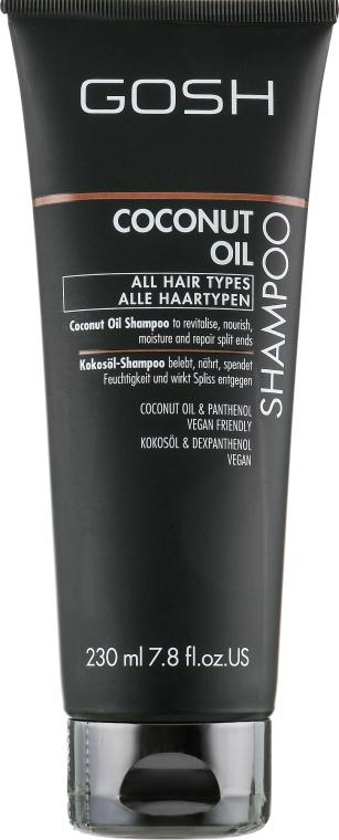 Шампунь для волос - Gosh Copenhagen Coconut Oil Shampoo