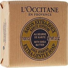"""Духи, Парфюмерия, косметика Мыло """"Карите-молоко"""" - L'occitane Shea Butter Extra Gentle Soap-Milk"""