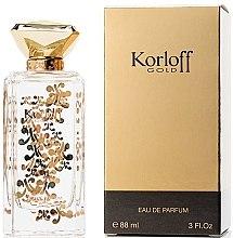 Духи, Парфюмерия, косметика Korloff Paris Korloff Gold - Парфюмированная вода (пробник)