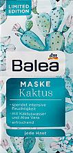 Духи, Парфюмерия, косметика Маска для лица с экстрактом кактуса - Balea Cactus Face Mask