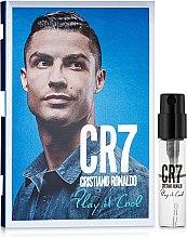 Духи, Парфюмерия, косметика Cristiano Ronaldo CR7 Play It Cool - Туалетная вода (пробник)