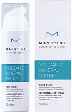Духи, Парфюмерия, косметика Флюид для лица - Masstige Volcanic Mineral Water Face Fluid