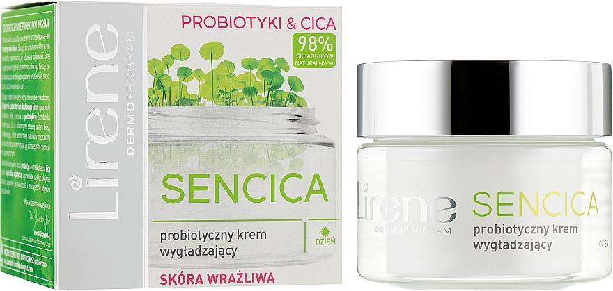 Пробиотический разглаживающий дневной крем для чувствительной кожи - Lirene Sencica
