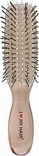 Духи, Парфюмерия, косметика Щетка для волос 8 рядов, прозрачно-ореховая - I Love My Hair