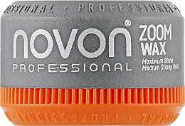 Духи, Парфюмерия, косметика Помада для волос средней фиксации - Novon Professional Zoom Wax Medium Hold