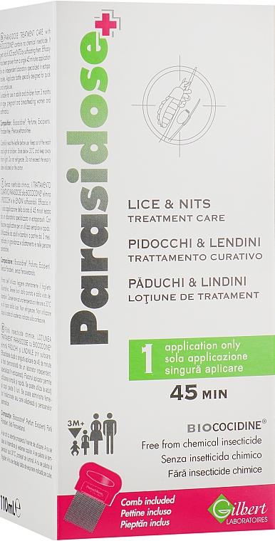 Противопедикулезное средство - Gilbert Laboratories Parasidose+ Lice&Nits Treatmen Care