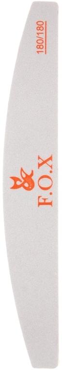 Пилочка-шліфувальник для нігтів 180/180 - F.O.X Nail File For Polishing — фото N1