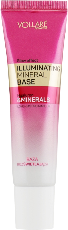 Разглаживающая и осветляющая база под макияж - Vollare Cosmetics Illuminating Mineral Base