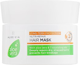 Маска для волос - LR Health & Beauty Aloe Via Nutri-Repair Hair Mask — фото N1
