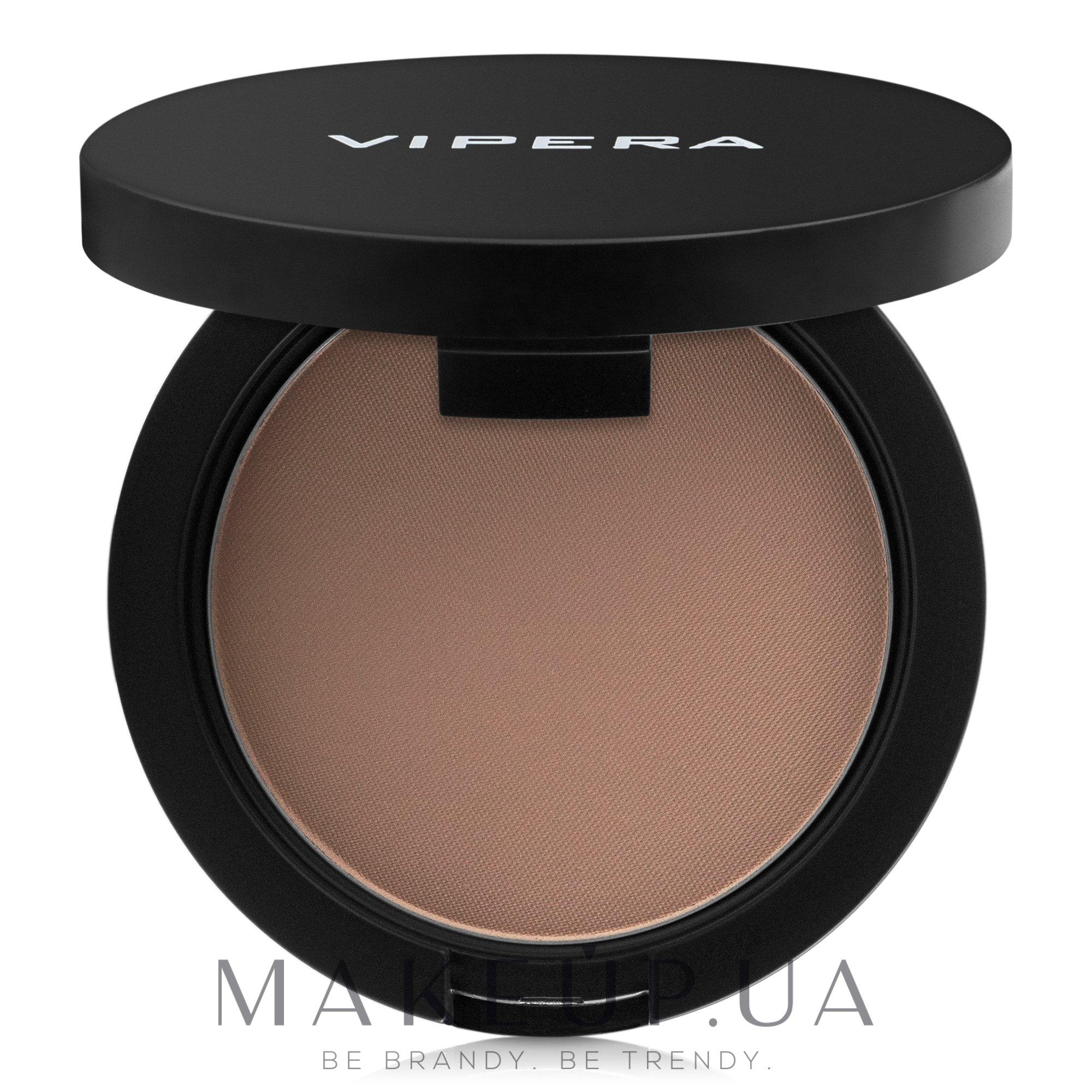 """Компактная пудра с зеркальцем """"Лицо"""" - Vipera Face Powder — фото 601 - Bronzer"""