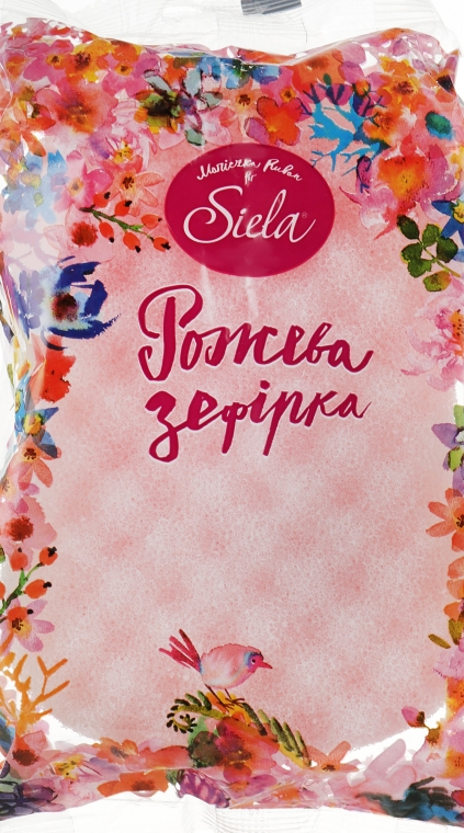"""Банная губка """"Розовая зефирка"""" - Siela"""