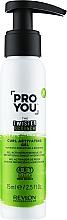 Парфумерія, косметика Активатор локонів - Revlon Professional Pro You The Twister Scrunch Curl Activator Gel
