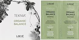 Духи, Парфюмерия, косметика Набор пробников - Lakme Teknia Organic Balance (sh/10ml+mask/10ml)