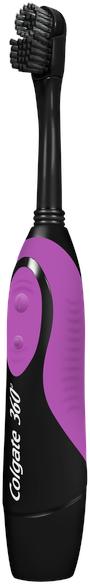 """Электрическая зубная щетка """"Древесный Уголь"""", мягкая, фиолетовая - Colgate — фото N2"""