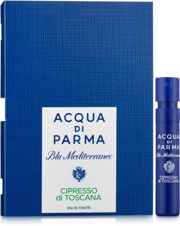 Acqua di Parma Blu Mediterraneo-Cipresso di Toscana - Туалетная вода (пробник)
