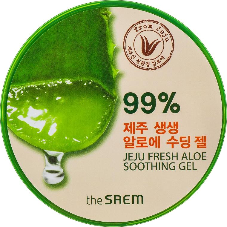 Гель с алоэ универсальный - The Saem Jeju Fresh Aloe Soothing Gel 99%