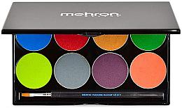 Духи, Парфюмерия, косметика УЦЕНКА Палитра аквагрима - Mehron Makeup Paradise AQ Paint 8 Color Face & Body Palette *