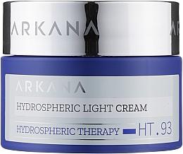 Духи, Парфюмерия, косметика Легкий увлажняющий крем, насыщающий кожу кислородом - Arkana Hydrospheric Light Cream