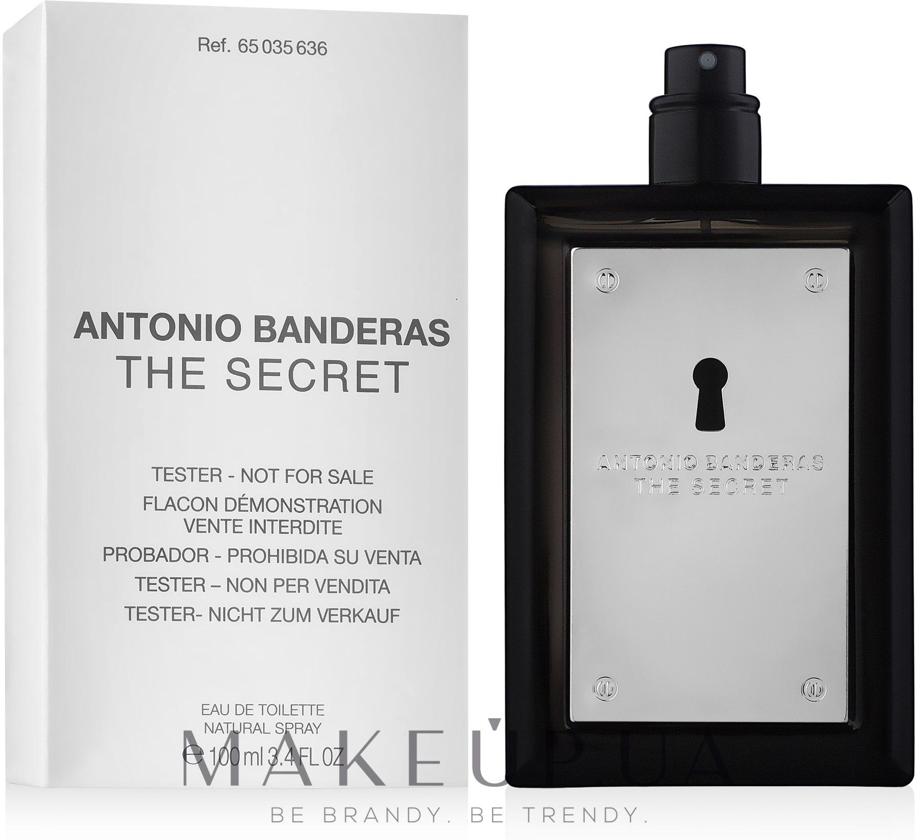 Antonio Banderas The Secret - Туалетна вода (тестер без кришечки) — фото 100ml