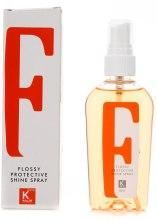 Духи, Парфюмерия, косметика Спрей с блеском - Kallos Cosmetics Flossy Protective Shine Spray